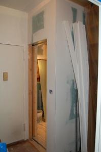 new door to bathroom